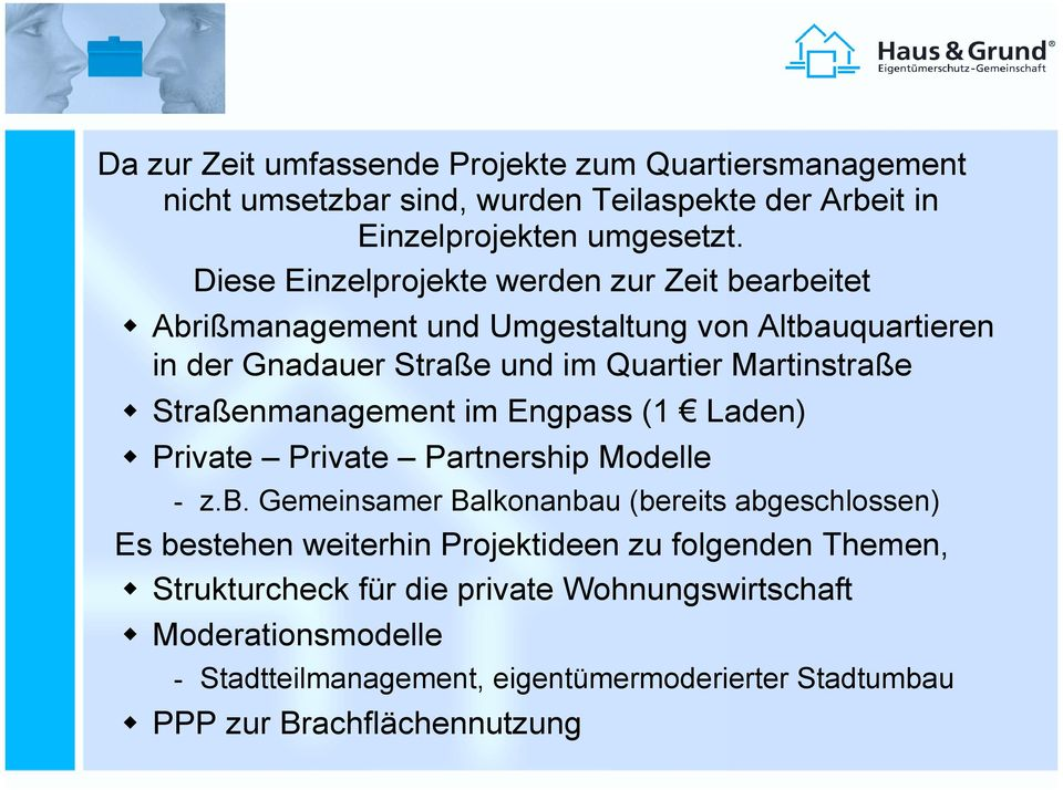 Straßenmanagement im Engpass (1 Laden)! Private Private Partnership Modelle - z.b.