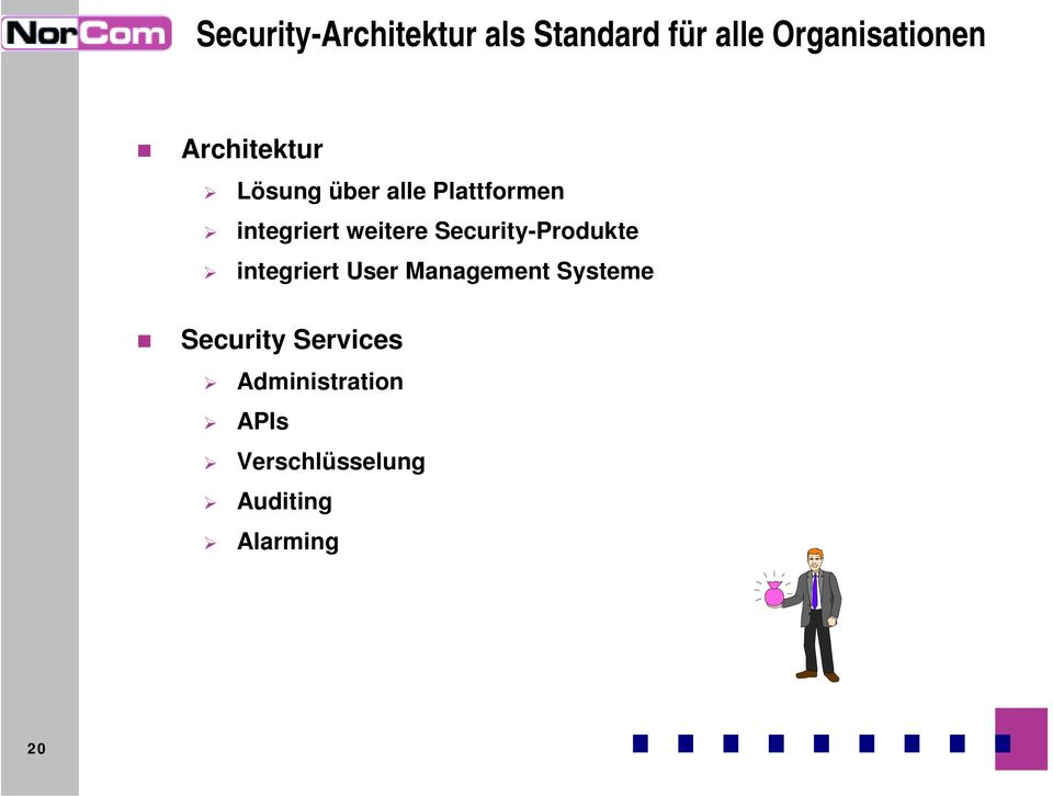 Security-Produkte integriert User Management Systeme Security