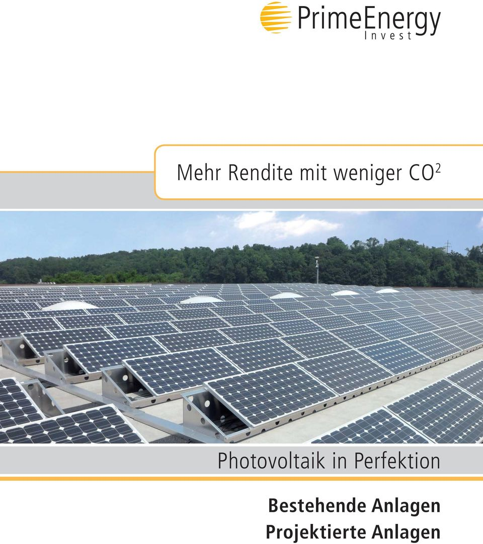 Photovoltaik in