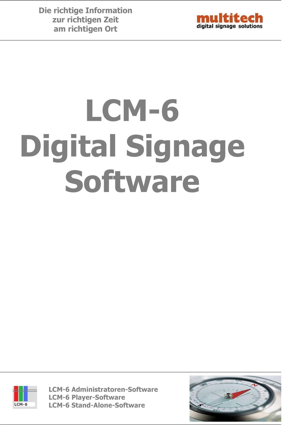 Signage Software LCM-6
