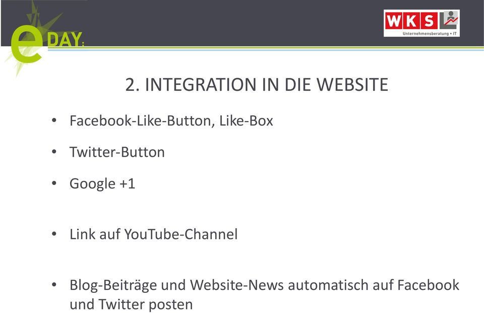 Google +1 Link auf YouTube-Channel