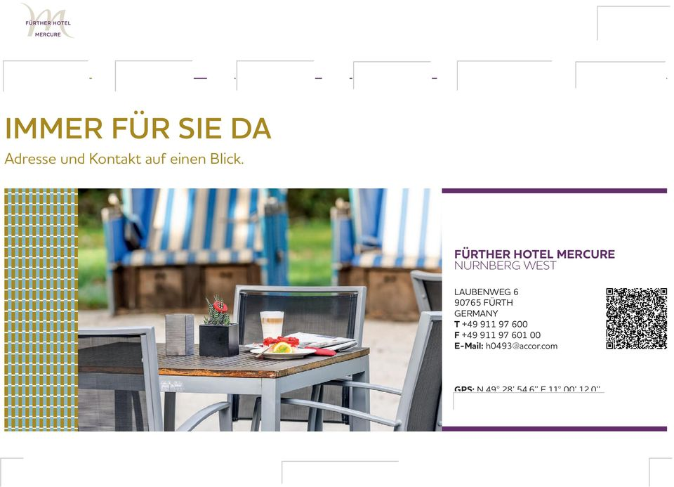 GERMANY T +49 911 97 600 F +49 911 97 601 00 E-Mail: h0493@accor.