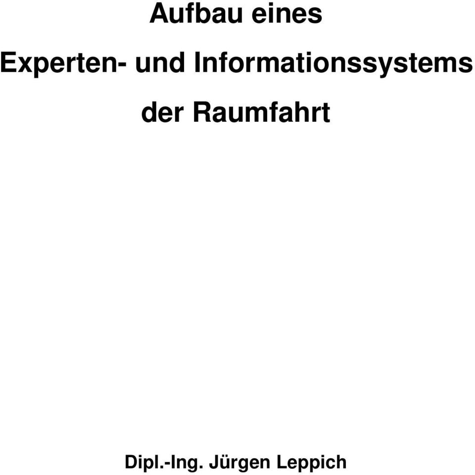 Informationssystems
