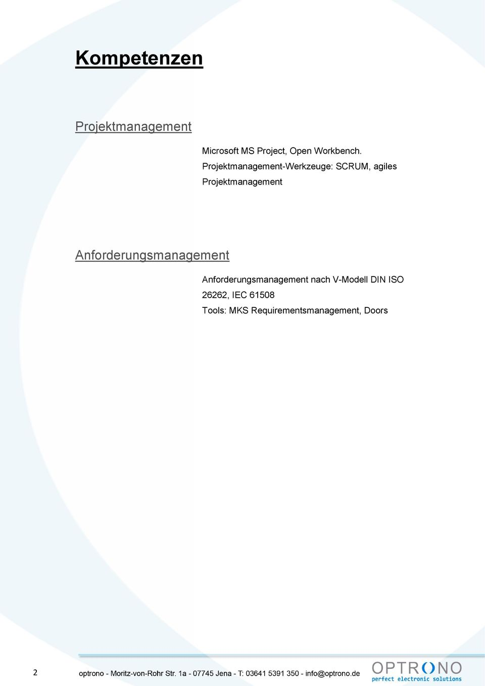 Projektmanagement-Werkzeuge: SCRUM, agiles Projektmanagement
