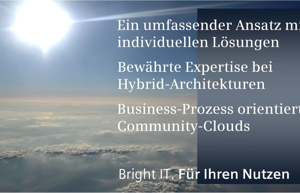 Hybrid-Architekturen Business-Prozess