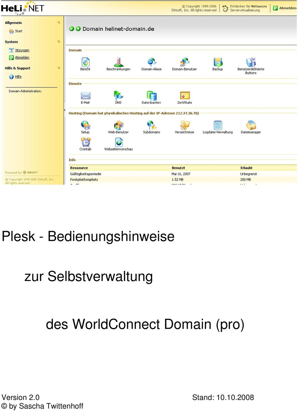 WorldConnect Domain (pro)
