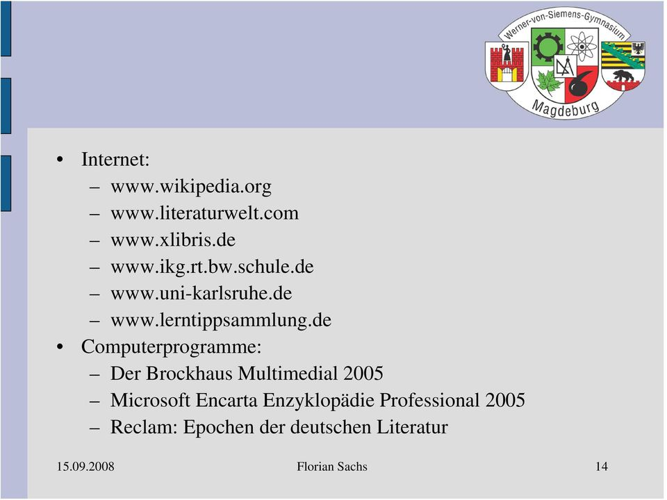 de Computerprogramme: Der Brockhaus Multimedial 2005 Microsoft Encarta