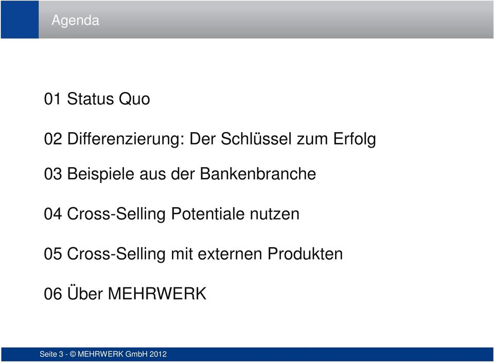 Cross-Selling Potentiale nutzen 05 Cross-Selling mit