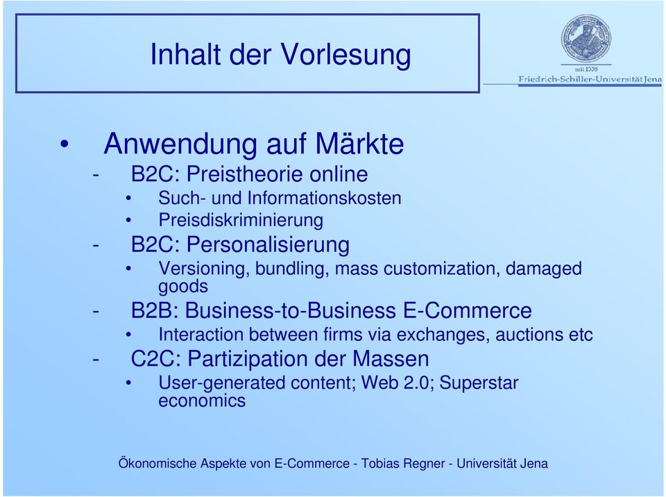 customization, damaged goods - B2B: Business-to-Business E-Commerce Interaction between firms