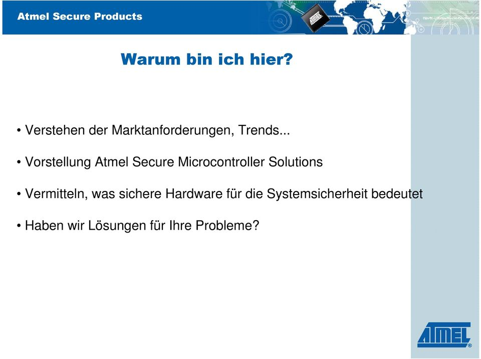 .. Vorstellung Atmel Secure Microcontroller Solutions