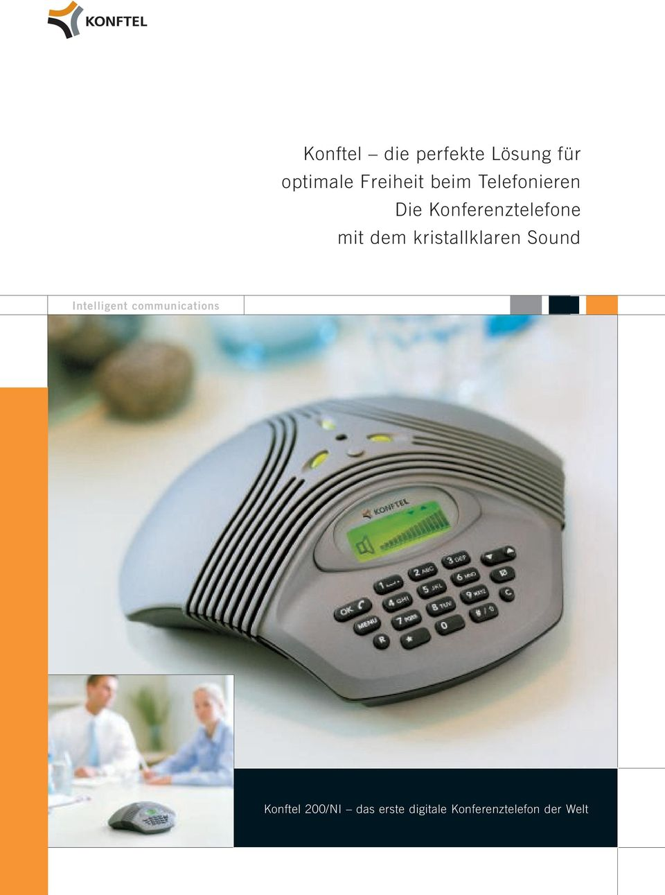 kristallklaren Sound Intelligent communications