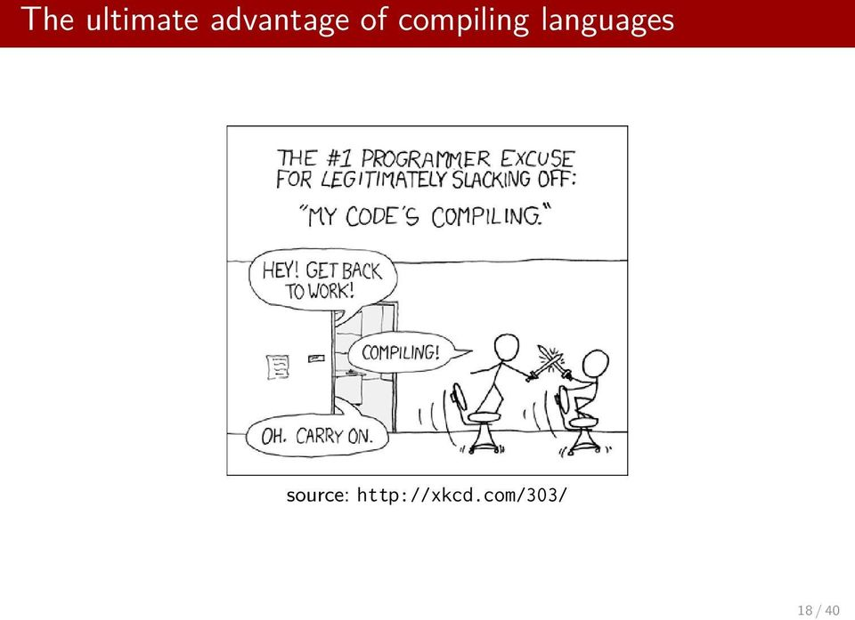 compiling languages