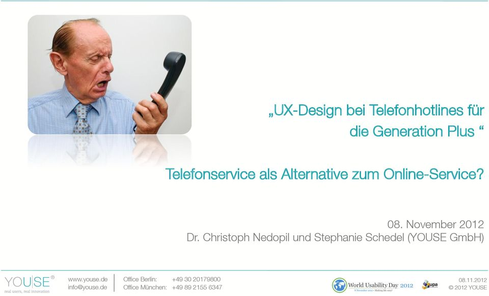 Alternative zum Online-Service? 08.