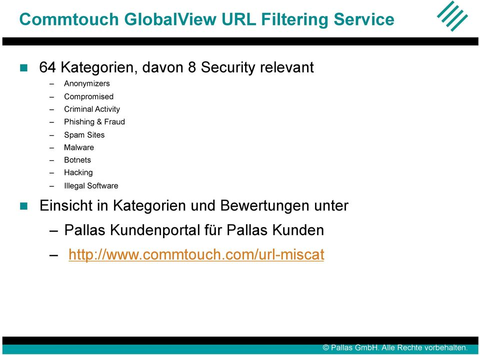 Malware Botnets Hacking Illegal Software Einsicht in Kategorien und
