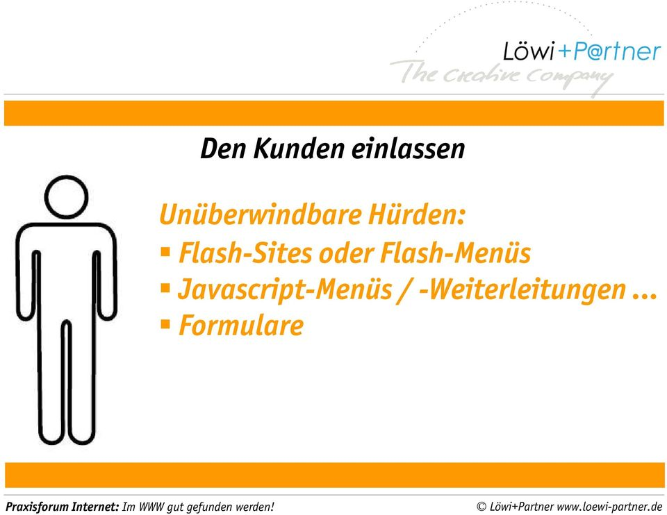 Flash-Sites oder Flash-Menüs