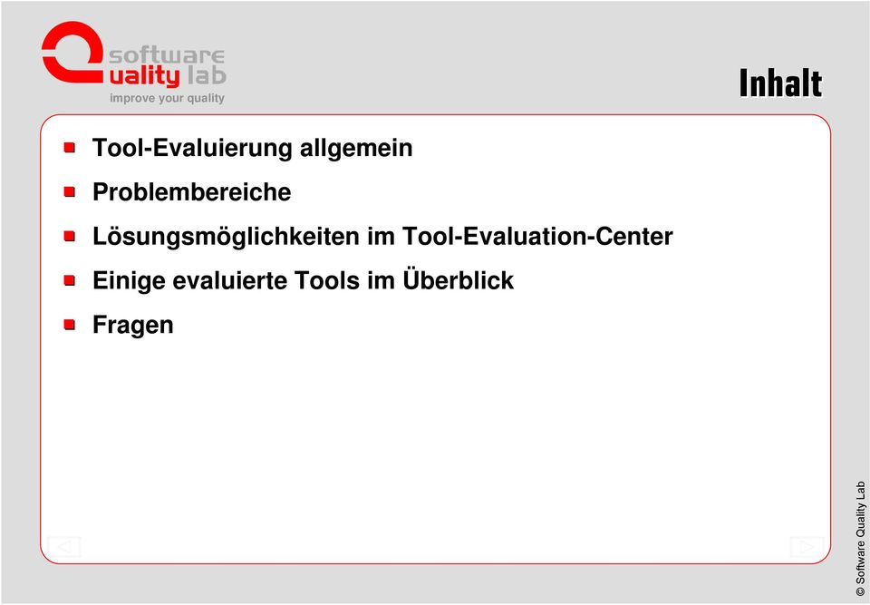 glichkeiten im Tool-Evaluation