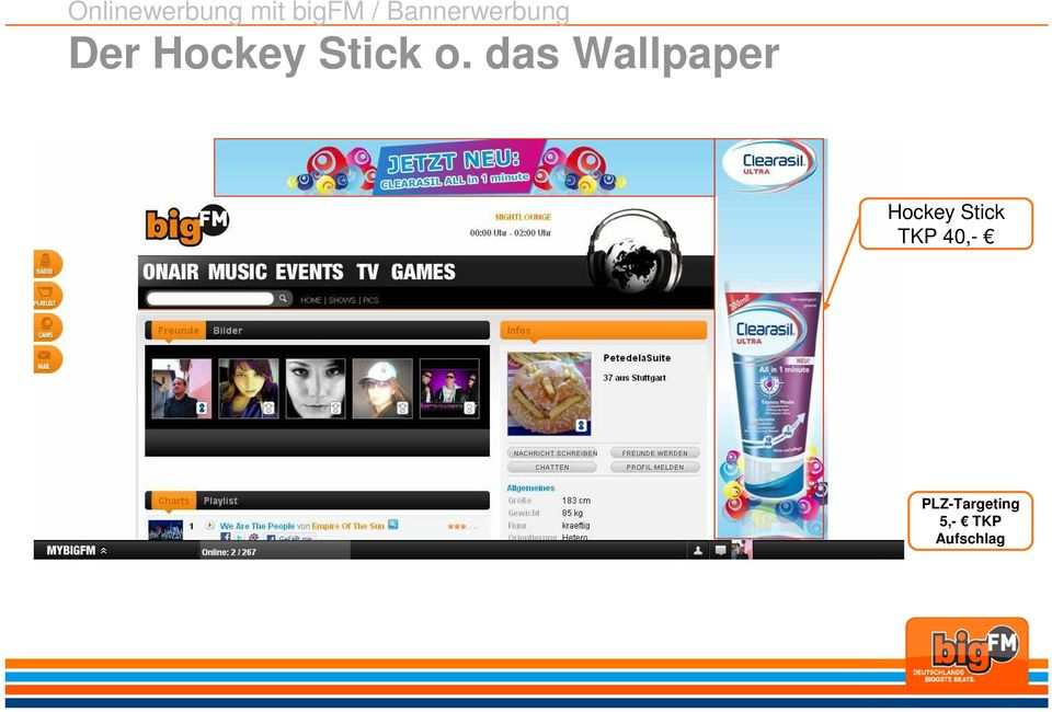 o. das Wallpaper Hockey Stick