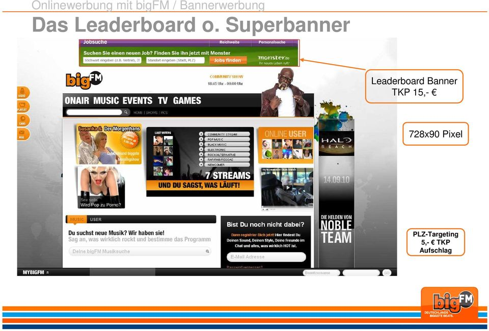 Superbanner Leaderboard Banner TKP