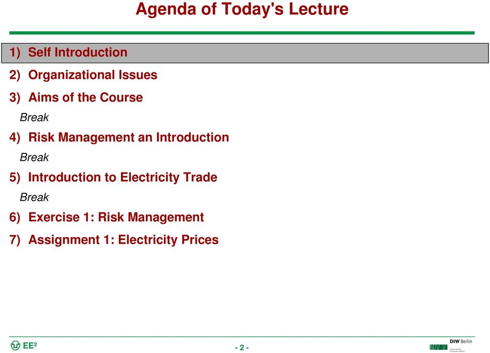 Management an Introduction 5) Introduction to Electricity