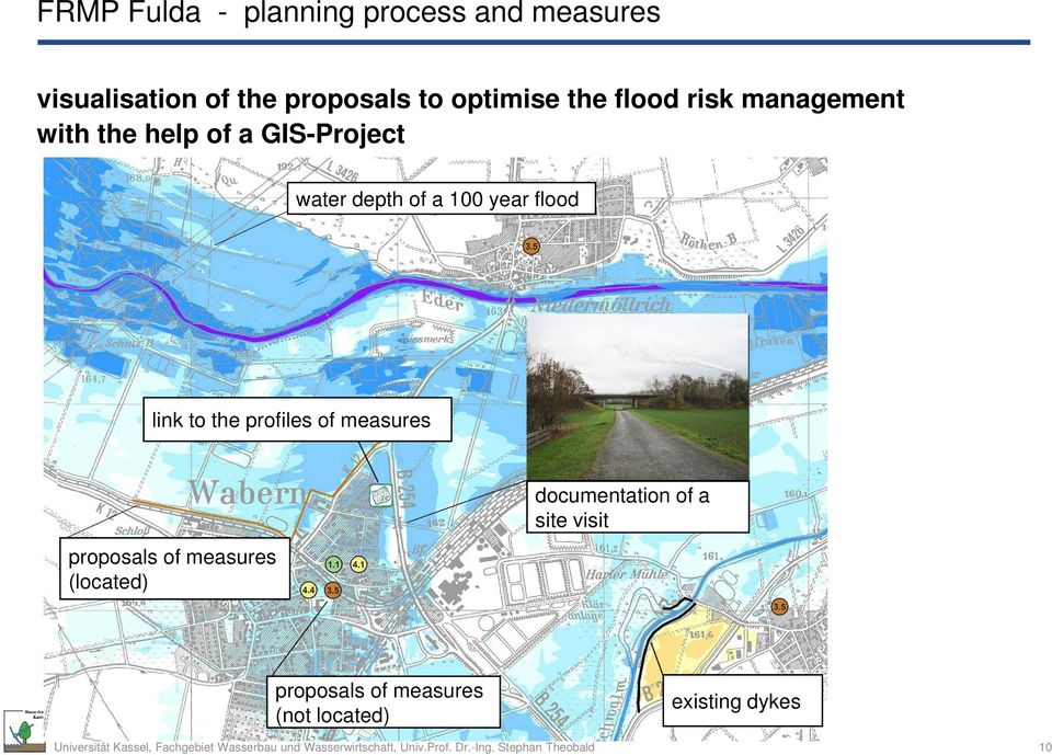 a 100 year flood link to the profiles of measures proposals of measures