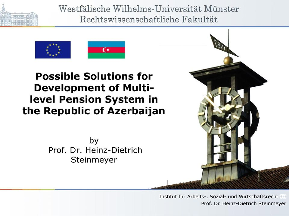 Pension System in the Republic