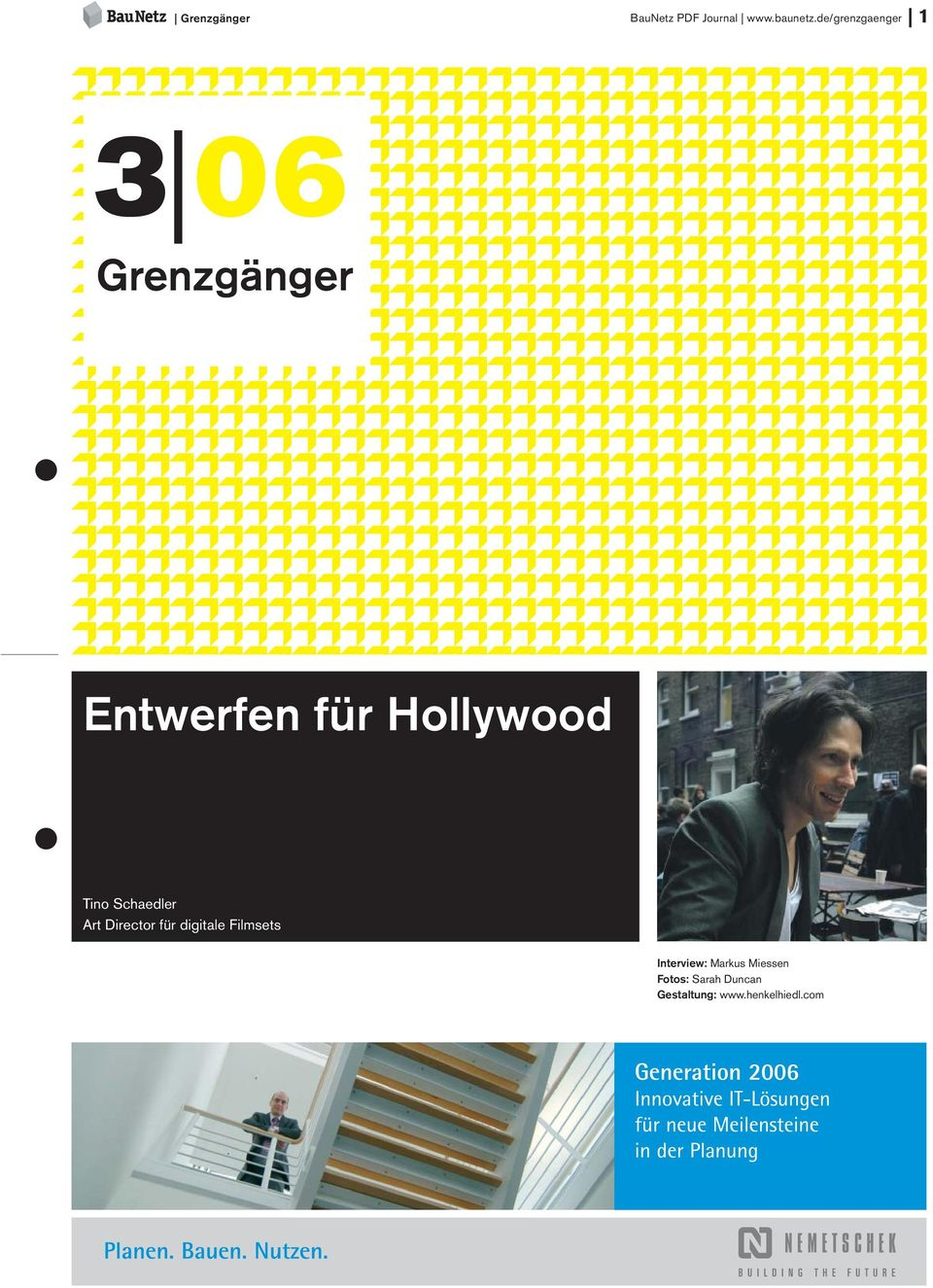 Hollywood Tino Schaedler Art Director für digitale