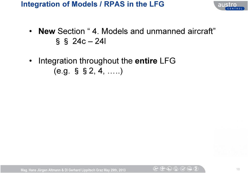 Models and unmanned aircraft 24c 24l