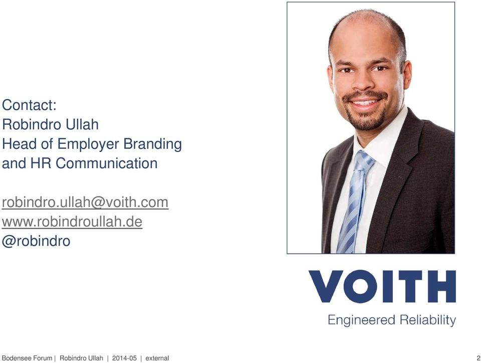 ullah@voith.com www.robindroullah.
