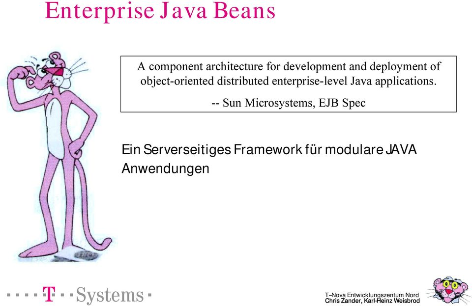 enterprise-level Java applications.