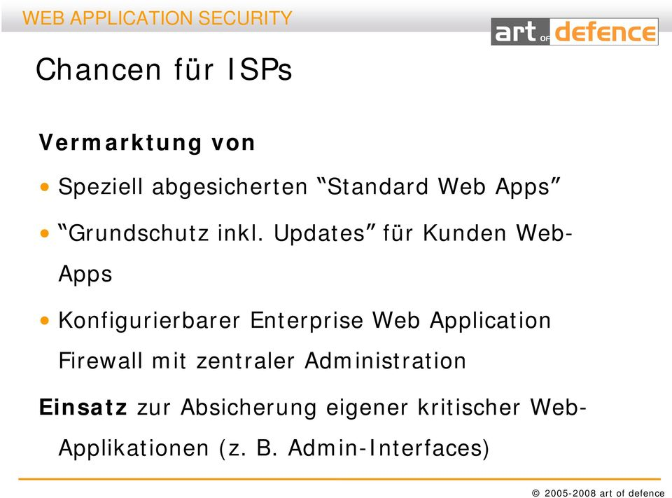 Updates für Kunden Web- Apps Konfigurierbarer Enterprise Web Application