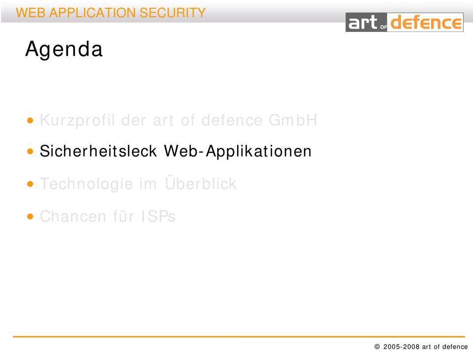 Web-Applikationen Technologie