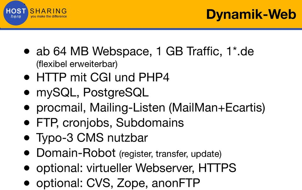 cronjobs, Subdomains Typo-3 CMS nutzbar Domain-Robot (register, transfer,