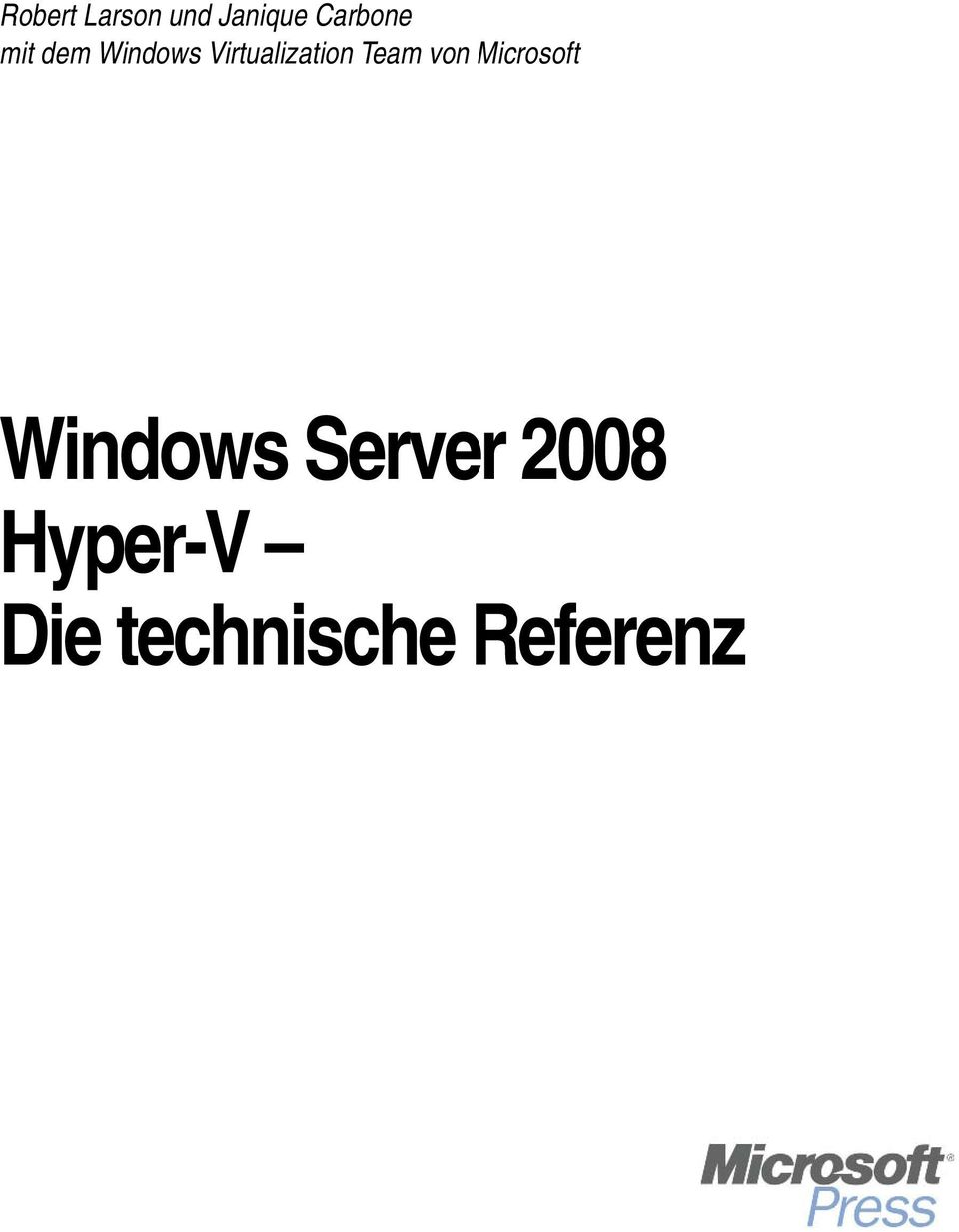 Team von Microsoft Windows Server