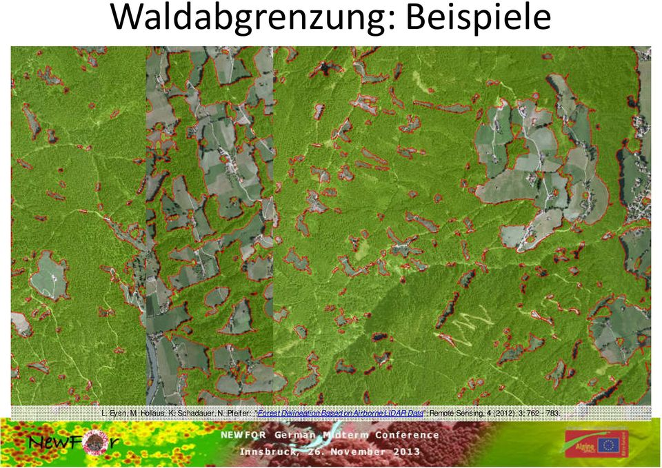 "Pfeifer: ""Forest Delineation Based on"