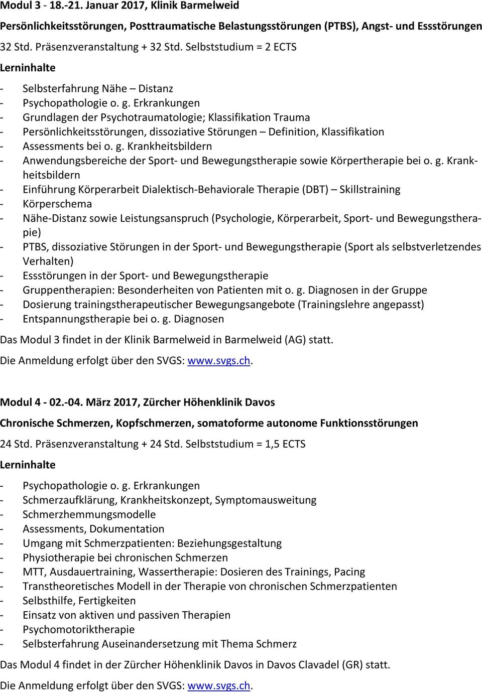 Erkrankungen - Grundlagen der Psychotraumatologie; Klassifikation Trauma - Persönlichkeitsstörungen, dissoziative Störungen Definition, Klassifikation - Assessments bei o. g.