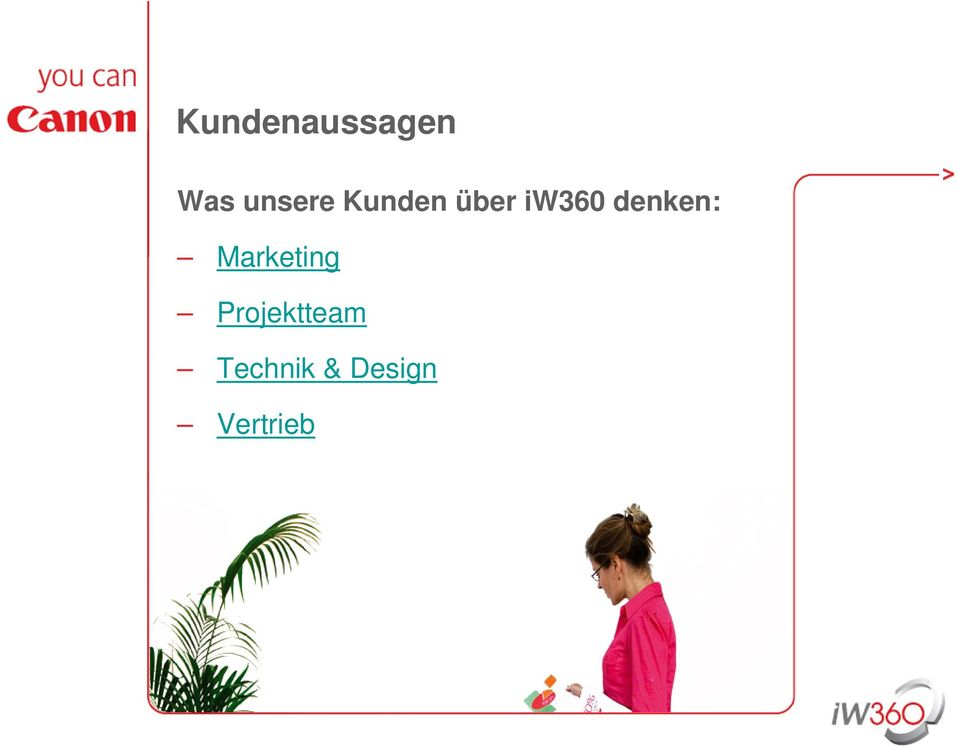 denken: Marketing