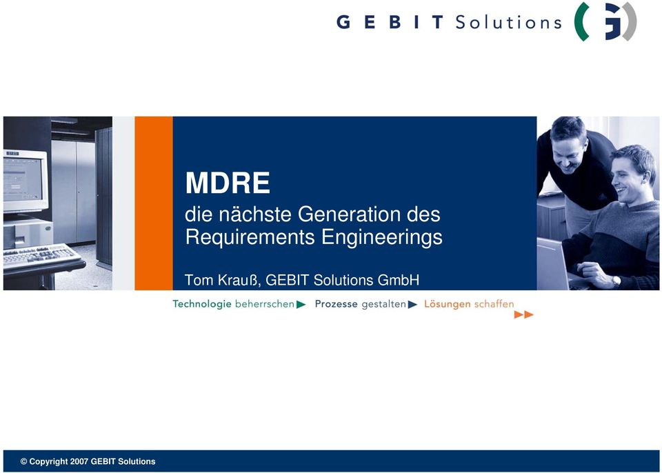 Tom Krauß, GEBIT Solutions
