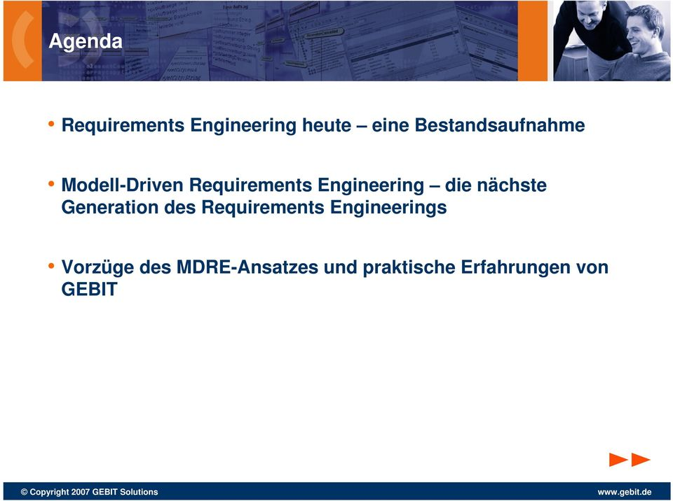 Engineering die nächste Generation des Requirements