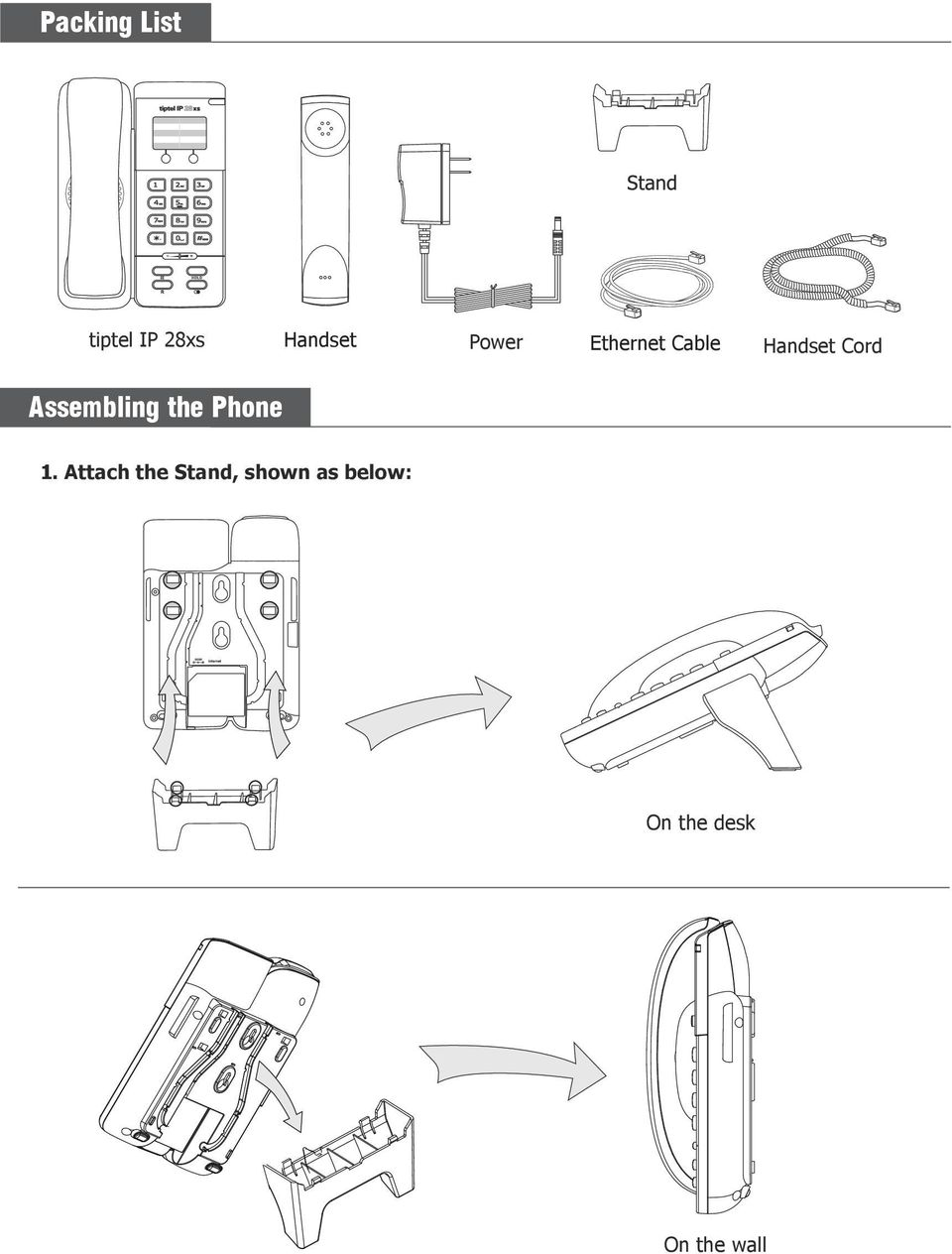Assembling the Phone 1.
