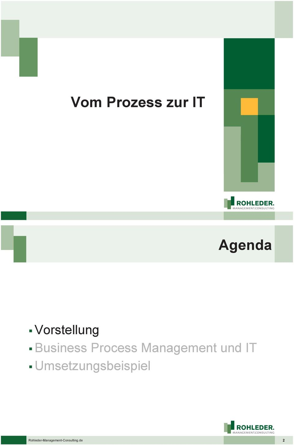 Management und IT