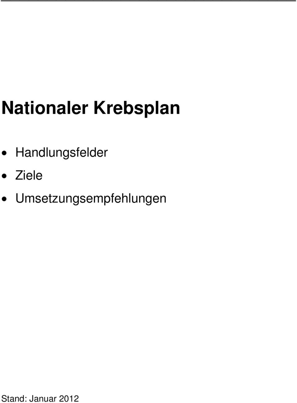 nationaler krebsplan pdf