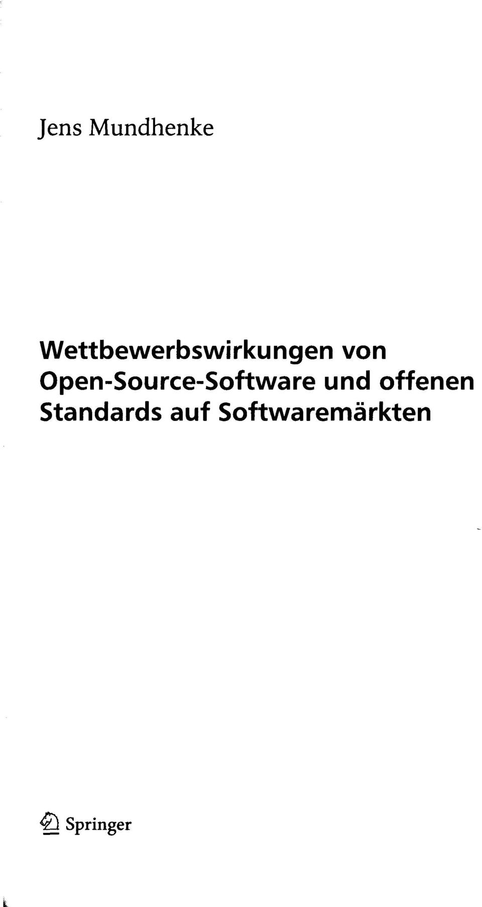 Open-Source-Software und