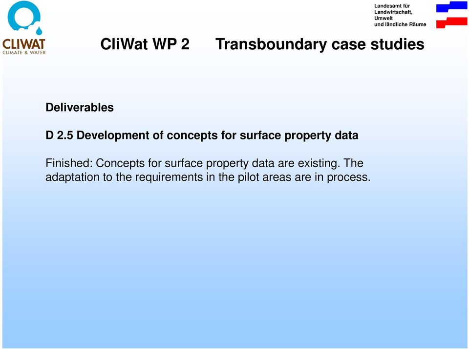 data Finished: Concepts for surface property data