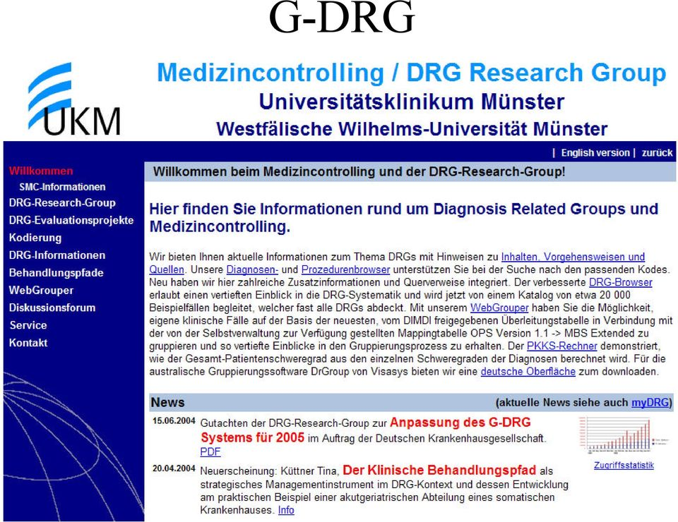 DRG Diagnosis Related Group - PDF
