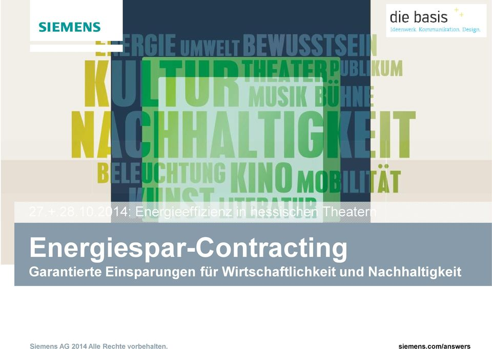 Theatern Energiespar-Contracting