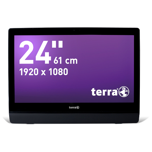 Datenblatt: TERRA ALL-IN-ONE-PC 2411 GREENLINE 10-point Multi-Touch-Display inkl.