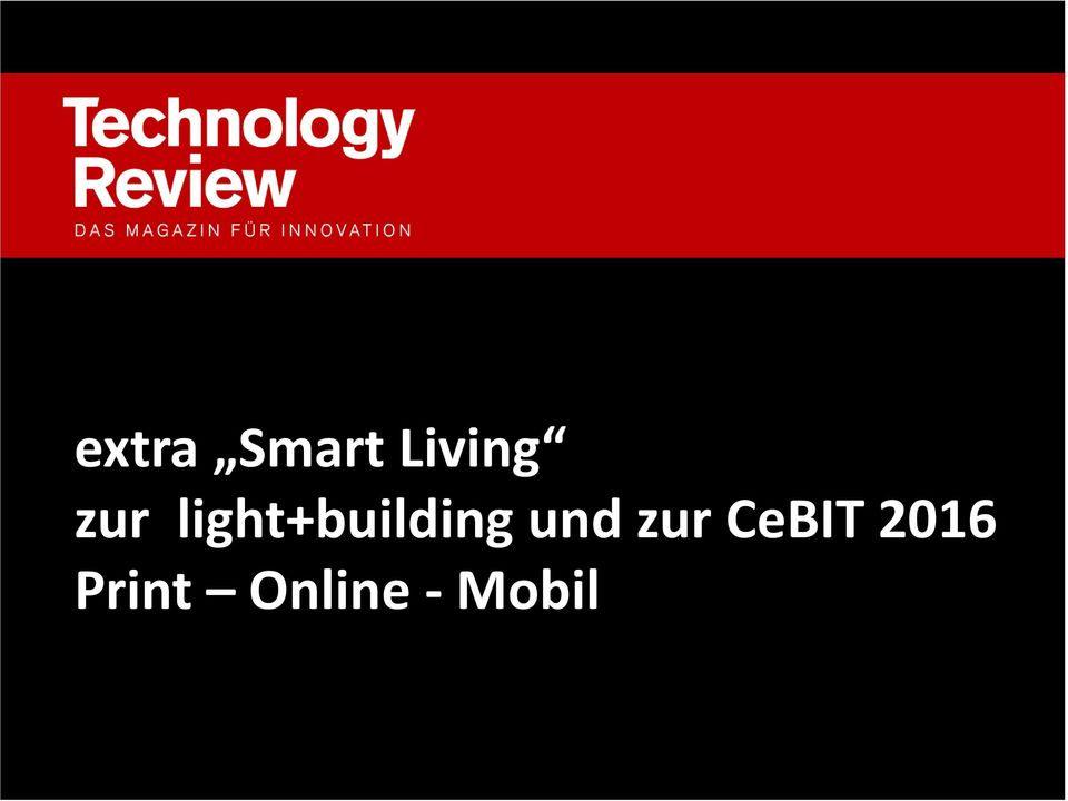 Living zur light+buildingund