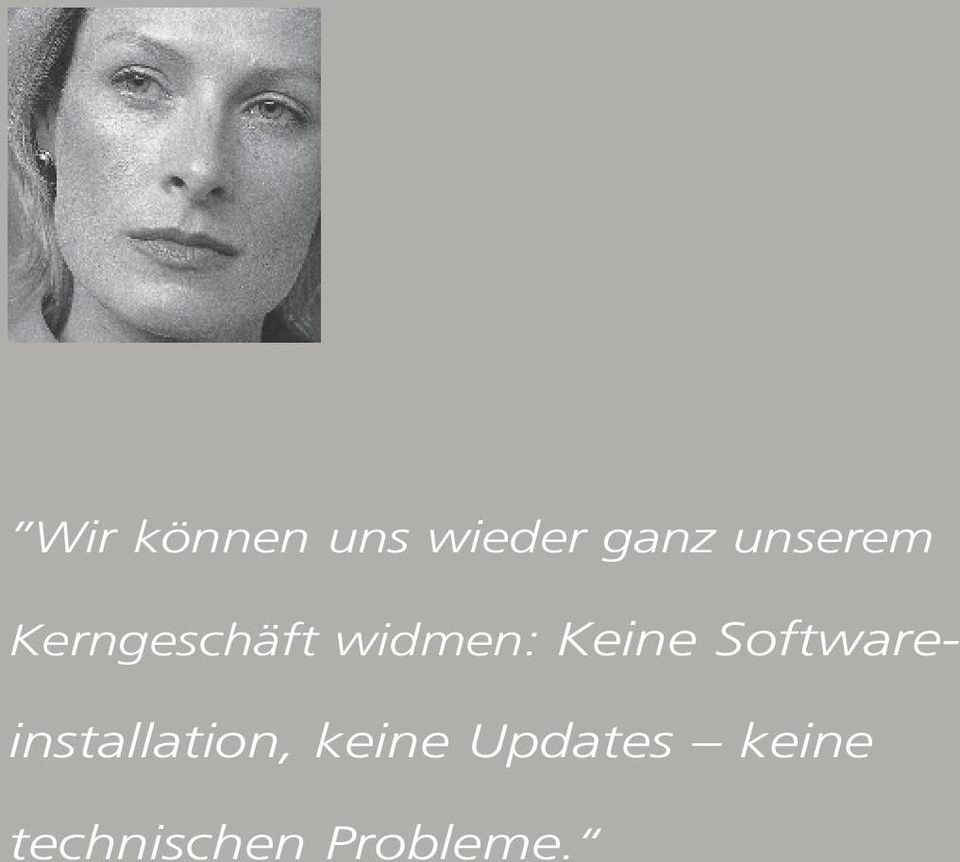 Keine Softwareinstallation,