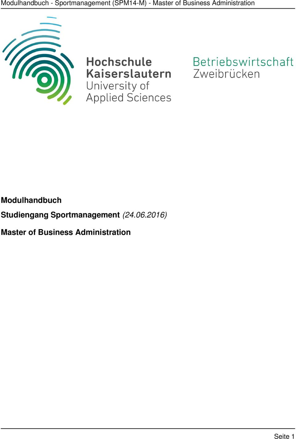 Sportmanagement (24.06.