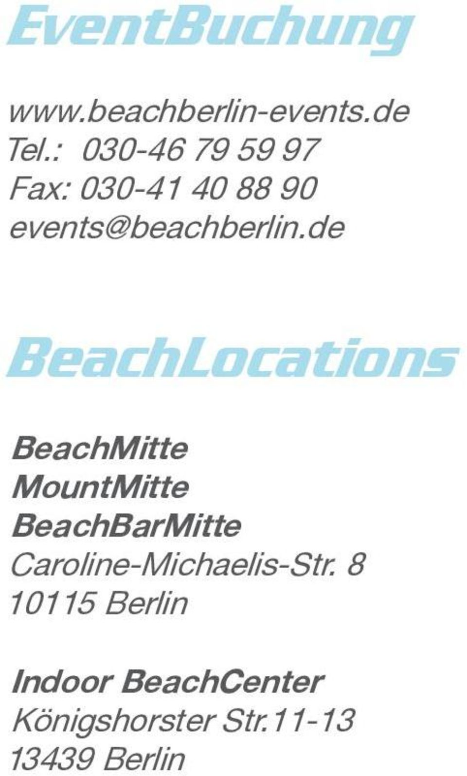de BeachLocations BeachMitte MountMitte BeachBarMitte